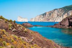Sardinia west coast Stock Photos