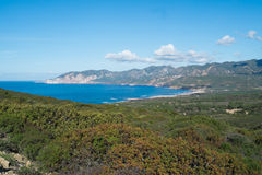 Sardinia west coast Royalty Free Stock Photography