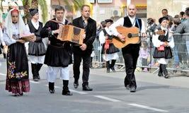 Sardinian традиция стоковая фотография