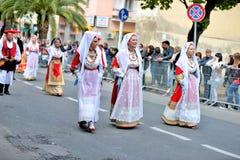 Sardinian традиция стоковые фото