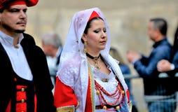 Sardinian традиция стоковая фотография rf