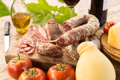 Sardinian Appetizers Royalty Free Stock Image