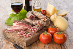 Sardinian Appetizers Royalty Free Stock Images