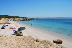 Sardinian beach Royalty Free Stock Photography