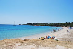 Sardinian beach Stock Image