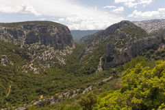 Sardinian Canyon Royalty Free Stock Photos