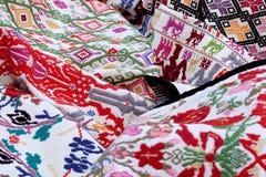 Sardinian carpets Stock Photography