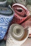 Sardinian carpets. Royalty Free Stock Image