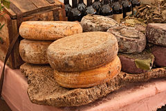 Sardinian cheese Royalty Free Stock Images