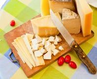 Sardinian cheese Stock Image
