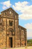 Sardinian Church. Sardinian Romanesque Church in Ardara - Sassari royalty free stock image