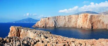 Sardinian cliffs Royalty Free Stock Photography