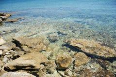 Sardinian cliffs Royalty Free Stock Image