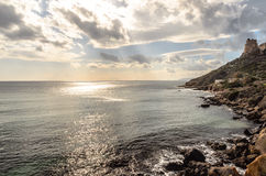 Sardinian coast. Spot of a sardinian southern coast Stock Photo