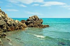 Sardinian coastline Royalty Free Stock Images