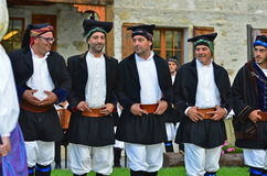 Sardinian Dancers Stock Photos