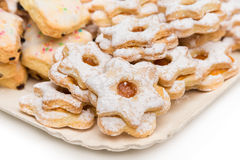 Sardinian donuts Royalty Free Stock Images