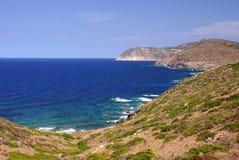 sardinian hav för kostnad Royaltyfria Bilder