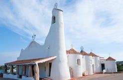 Sardinian kyrka arkivfoton