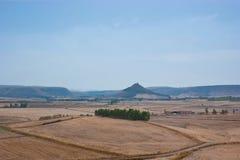 Sardinian lantligt landskap Arkivfoto