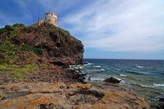 Sardinian lighthouse Royalty Free Stock Image