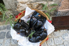 Sardinian maskering Arkivbilder