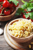 Sardinian raw pasta malloreddus Stock Photography