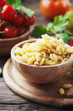 Sardinian raw pasta malloreddus Royalty Free Stock Photos