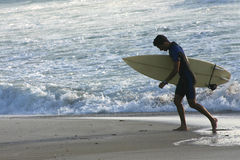 Sardinian surfing stock images