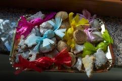 Sardinian sweets Stock Images