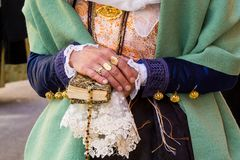 Sardinian traditional costume Royalty Free Stock Image
