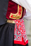 Sardinian traditional costume Royalty Free Stock Images