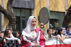 Sardinian typical costumes Royalty Free Stock Photography