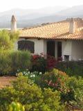 Sardinian villa royalty free stock photo
