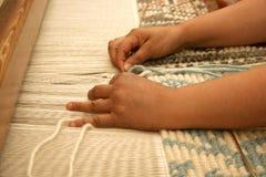 Sardinian weaving. Sardinia (Italy) Stock Photos