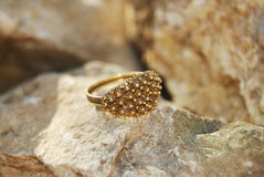 Sardinian wedding ring Stock Images