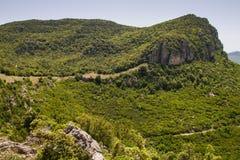 Sardinien-Bergblick lizenzfreie stockfotografie