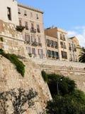 sardinien Cagliari Castello Lizenzfreie Stockfotos