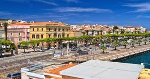 Sardinien - Carloforte stockfoto