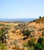 Sardinien-Landschaft - Gerrei Stockbild
