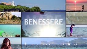 Sardinien, Montage stock footage