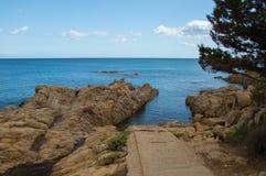 Sardinien-Seeeingang Lizenzfreie Stockfotos