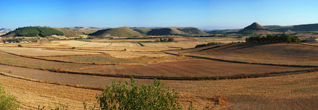 Sardiniens Felder Stockbild
