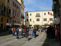 sardinige Alghero - L'Alguer Stock Foto's