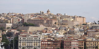 Sardinige, Cagliari, Italië Stock Fotografie