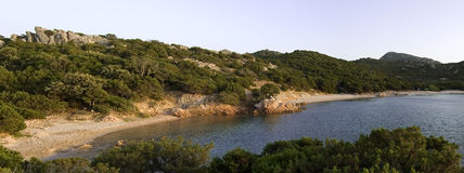 Sardinige Capo Ceraso royalty-vrije stock afbeelding