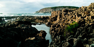 Sardinige-eiland van Sant'Antioco Stock Afbeeldingen