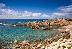 Sardinige, Italië. Costa Paradiso. Stock Foto's