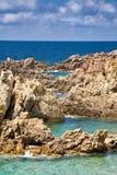 Sardinige, Italië. Costa Paradiso. Stock Fotografie
