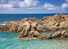 Sardinige, Italië. Costa Paradiso. Stock Foto